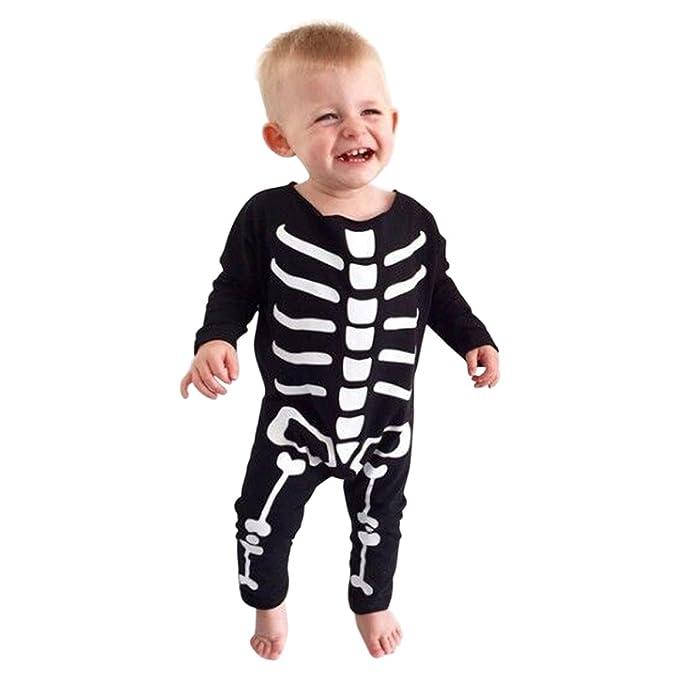 rorychen bebé Pelele Onesie Playsuit larga unisex pijamas de mono (0 - 24 M) - negro - : Amazon.es: Ropa y accesorios