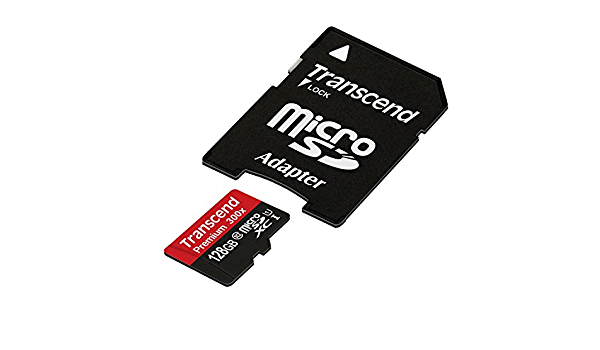 HTC ONE M9 Cell Phone Memory Card 2 x 128GB microSDHC Memory Card with SD Adapter
