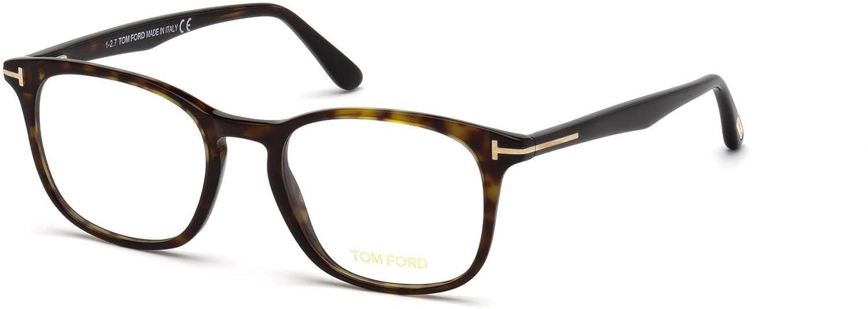 eafe7a4b8d47 Eyeglasses Tom Ford FT 5505 -F 052 dark havana at Amazon Men s Clothing  store