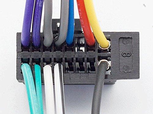 Select les mod/èles 2013/+ 010/voiture Head C/âble ISO pour OEM: Sony CDX-; DSX-; Mex-Series Radio st/ér/éo C/âble adaptateur m/âle C/âblage 16pin CARAV 15 22/x 10/mm