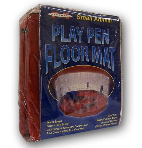 Marshall Rabbit Mat - Marshall Ferret Small Animal Playpen Mat/Cover 11 18