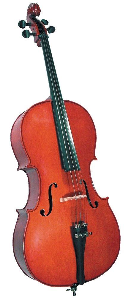 Cremona SC-100 Premier Novice Cello Outfit - 1/4 Size by Cremona