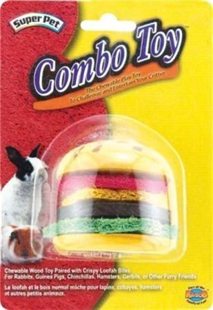 Super Pet/Pets International Combo Toy Crispy & Wood -