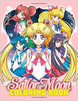 Sailor Moon Coloring Book Great 40 Illustrations for Kids
