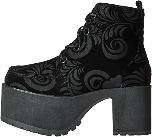 Burnout Shoes Women's u k Eye T Velvet Boots Black 4 Nosebleed nwOYYxP