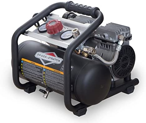 Briggs Stratton 1.8-Gallon Quiet Power Technology Air Compressor 074026-00