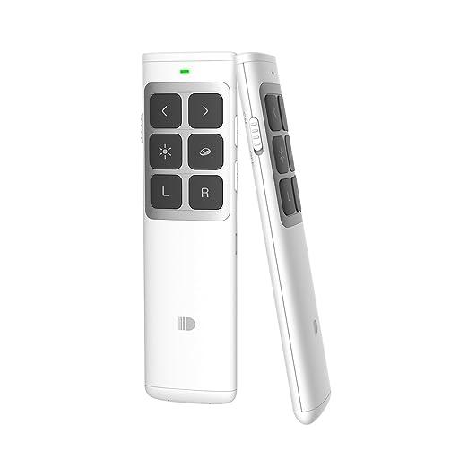 15 opinioni per Presentatore Doosl Remoto per Powerpoint e Keynote Wireless USB Presentatore di
