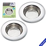 "Tools & Hardware : Fengbao 2PCS kitchen sink strainer, Large Wide Rim 4.5"" Diameter - Modle3"