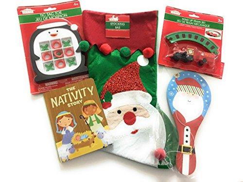 Pre-Stuffed Christmas Stocking Multiple-Games Kid Bundle