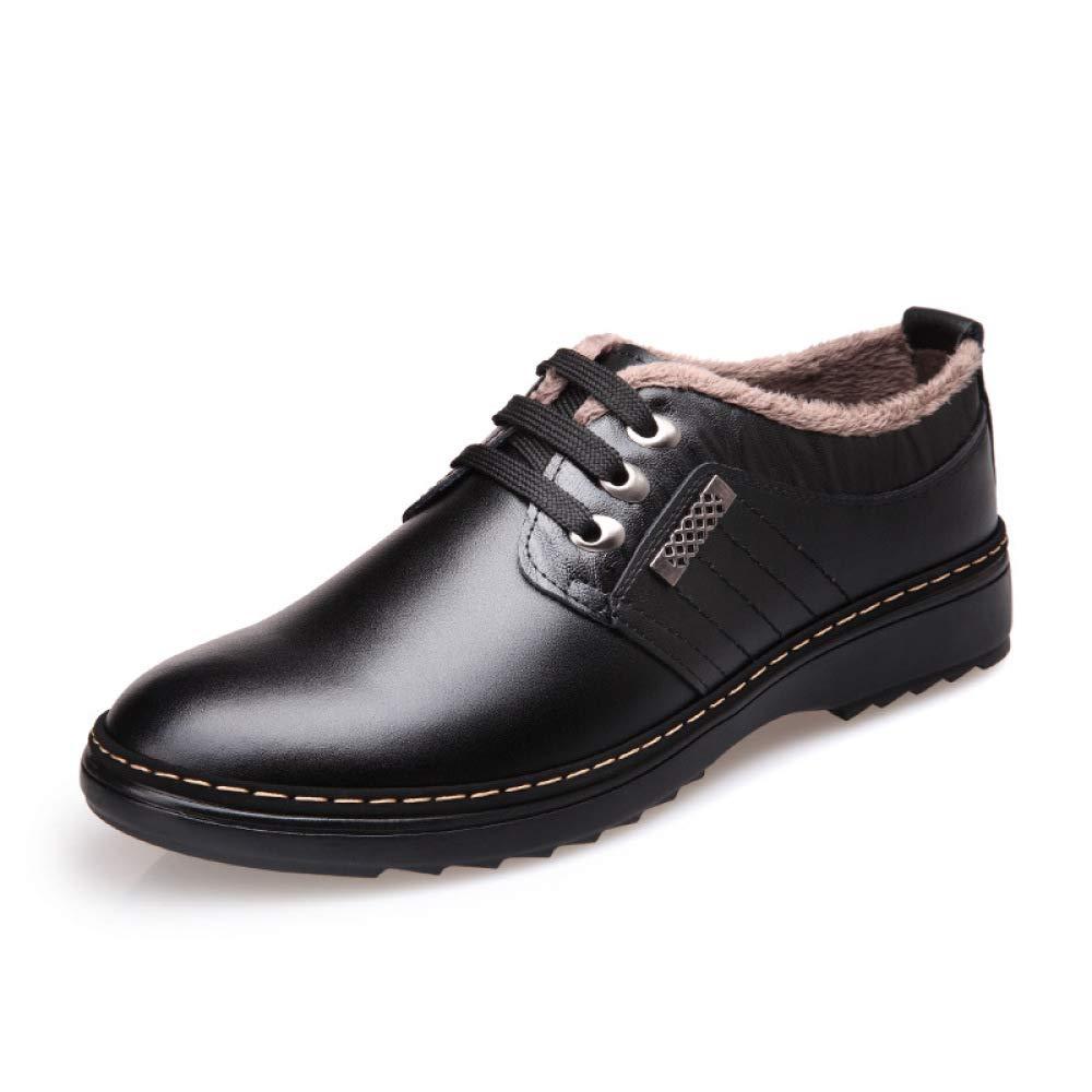 MYXUA Herrenschuhe Freizeitschuhe Rutschfeste Atmungsaktive Plus Atmungsaktive Schuhe Aus Kaschmir