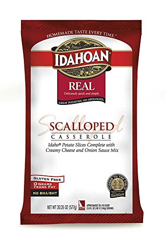 Idahoan Real Scalloped Potato Casserole, 20.35 Ounce - 12 per case. by Idahoan