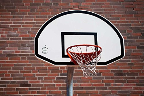 Sim,Popular murals Wood-Material DIY Present-Wrap in Box 29.5 X 19.6 inch 1000 Piece Hard Puzzle Large Size:Basketball Hoop