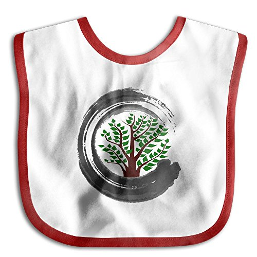 Bonsai Tree Zen Infant Baby's Skin-friendly Saliva Towel - Canada From Us Shipping To Usps