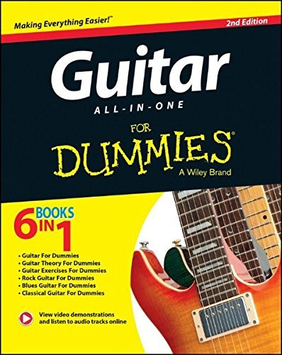 Guitar All-In-One For Dummies, Book + Online Video & Audio ()