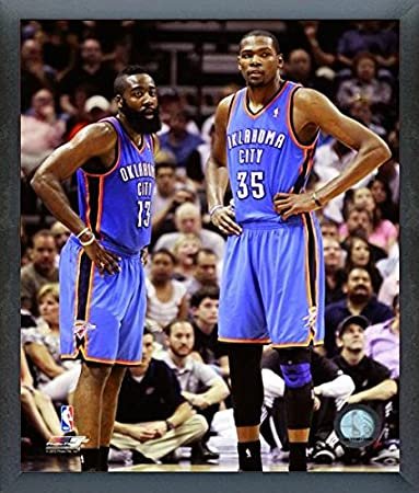 725fa2100e9 Image Unavailable. Image not available for. Color  James Harden Kevin Durant  Russell Westbrook Oklahoma City Thunder ...