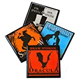 Classic Gothic Horror Book Cover Drink Coaster Set