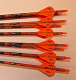 Easton ST Axis N Fused 400 Carbon Arrows w/Blazer Vanes Mossy Oak Wraps 1 Dz.