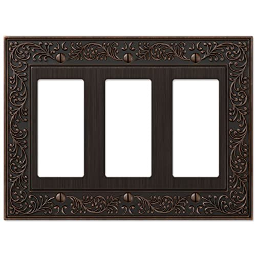 Decorative Triple Rocker Switch Plate Covers: Amazon.com