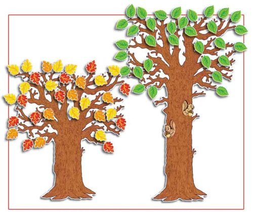 Scholastic Teacher's Friend Classroom Tree! Bulletin Board (Fall Classroom Decorations)