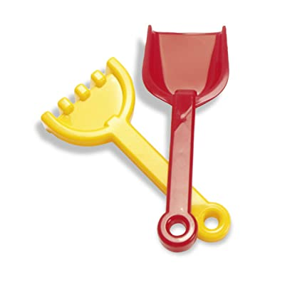 "American Educational Products DT-1142 Shovel and Rake Activity Set, 2.34"" Height, 3.512"" Wide, 9.75"" Length: Industrial & Scientific"
