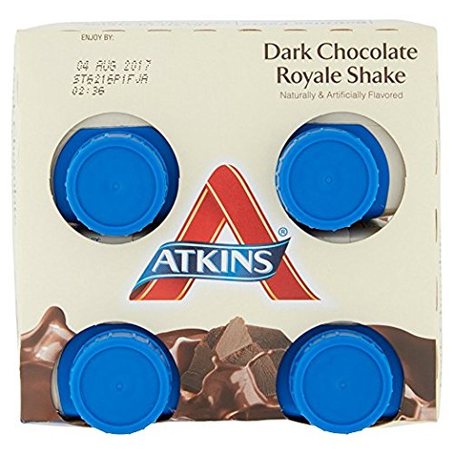 Atkins Ready To Drink Shake, (Dark Chocolate Royale, 11 Ounce, 4 Count)
