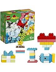 LEGO 10909 Classic Hartvormige Doos Bouwset, Eenvoudige Set voor Beginners, Educatief Speelgoed voor Peuters van 1.5 Jaar