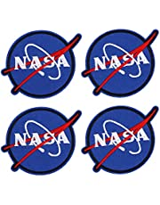 8 Stks Geborduurde Patches, NASA Stijl Kleding Patch Naai Stickers Kleding Applique DIY Kleding Decoratie voor DIY Decoratie: