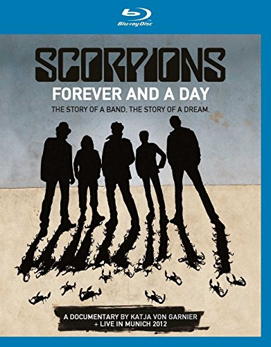 Blu-ray : Scorpions - Forever & a Day: Documentary + Live in Munich 2012 (United Kingdom - Import)