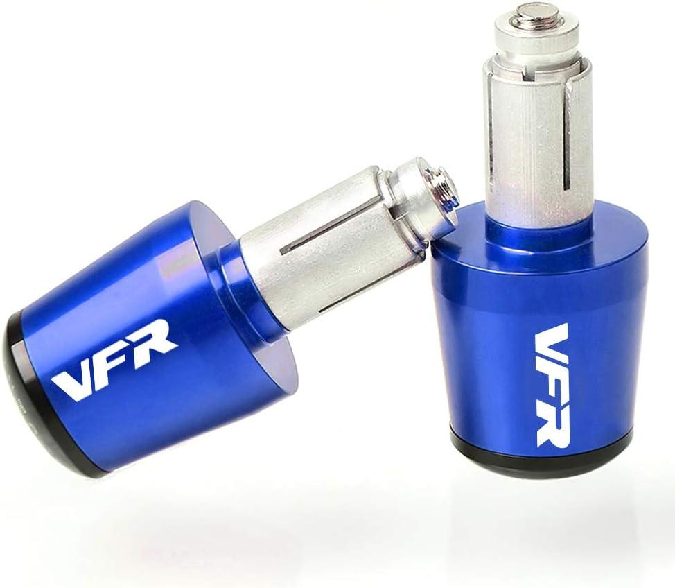 Motorrad Lenkergriffe Endkappen Aluminium f/ür Honda VFR 400 750 800 800X 800F Fi//W1 800VTEC 1200F 1200X Crosstourer Blau