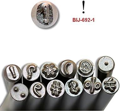 3.0mm KENT Metal Punch Stamp Dot Punctuation Mark Sold Individually BIJ-692-6