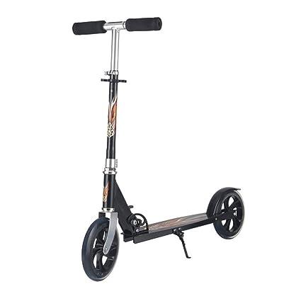 Amazon.com: Kick Scooter con 2 ruedas grandes, fácil de ...
