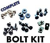 Honda CBR954RR 02 03 Motorcycle Fairing Bolt Kit, CBR954 Complete Screws and Fasteners kit CBR 954 RR 2002-2003