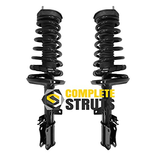 Rear Quick Complete Struts & Coil Spring Assemblies Compatible with 1992-1996 Toyota Camry 4 Cyl Sedan (Pair)