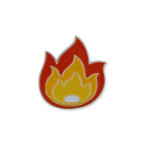 Fire Flame It's LIT Fuego Enamel Lapel Pin- 1 Pin: Amazon ca