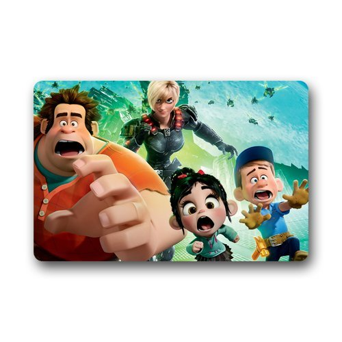 ScottShop Fashion Custom Cartoon movie Wreck-it Ralph Doormat 30