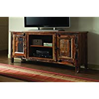 Coaster 700303 Home Furnishings TV Console, Reclaimed Wood