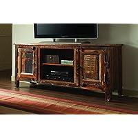 Coaster 700303 Home Furnishings TV Console, Reclaimed Wood