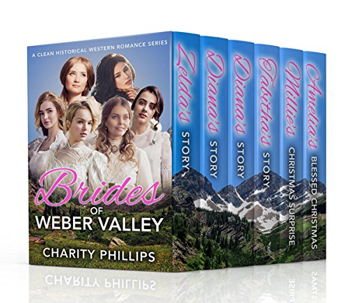 Brides Of Weber Valley: A Clean Historical Western Romance Series cover