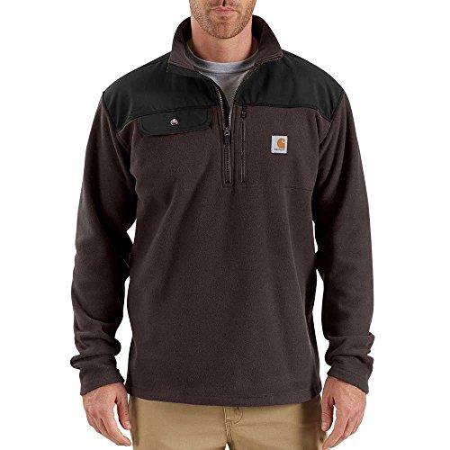 Carhartt zip Marron Fallon Foncé Men's 2 Sweater 1 HXOqwnZHYr