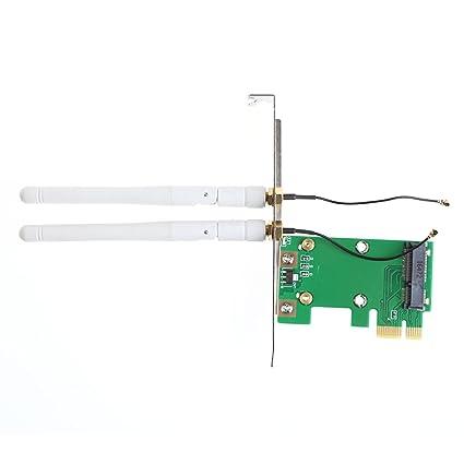 WiFi - Tarjeta de red inalámbrica (PCI-E a PCI-E, 1 ...