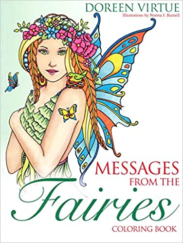 Amazon.com: Messages from the Fairies Coloring Book (9781401952020 ...
