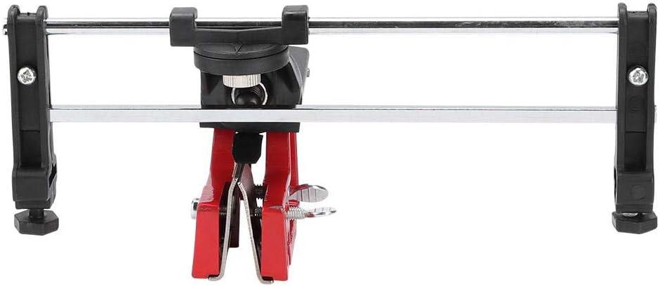 sistema di affilatura montato su barra di metallo Strumento di guida per limatura motosega portatile con ganasce regolabili Affilacatene manuale