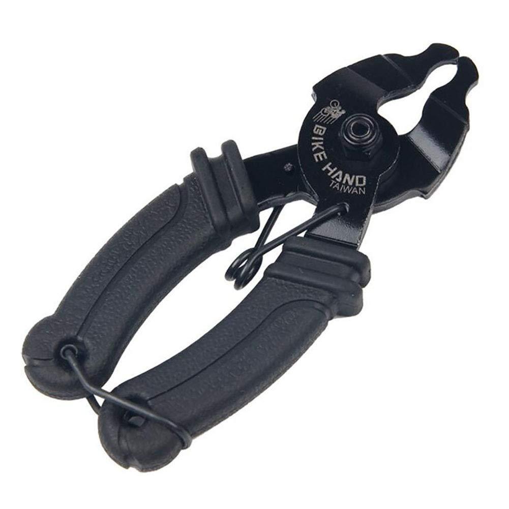 Herramienta Universal para Mantenimiento y reparaci/ón de alicates kaakaeu Herramienta de reparaci/ón de Hebilla de Cadena Abierta y Cerrada para Bicicleta