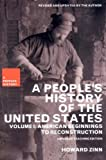 img - for A People's History of the United States: American Beginnings to Reconstruction (New Press People's History) by Howard Zinn (2003-08-01) book / textbook / text book