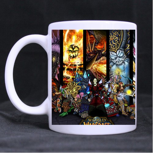 World of Warcraft Custom Morphing Mug