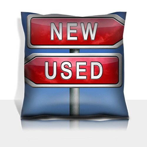 MSD Throw Pillowcase Polyester Satin Comfortable Decorative Soft Pillow Covers Protector sofa 16x16, 1pack IMAGE 21175428 llec or new latest or old second hand car or recycled product comparison