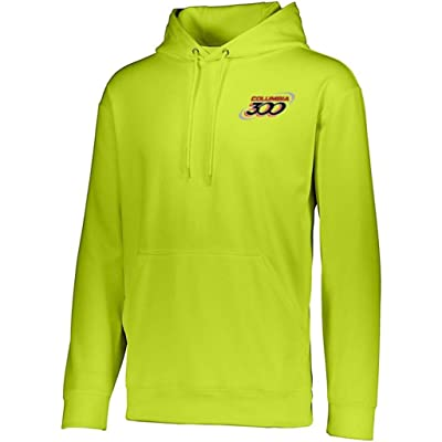 Columbia 300 Adult Wicking Fleece Hooded SweatshirtLime XXX-Large: Clothing