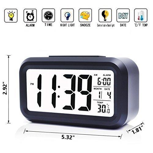 digital light sensor clock - 1
