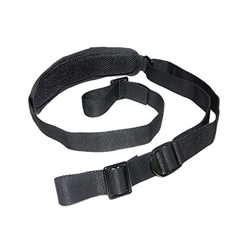 2 Point Rifle Sling Nylon Gun Strap with Removable Shoulder Pad Quick Adjustable Length 1.25 inch Webbing for Hunting Sports and Outdoors by SmallBing