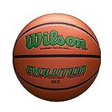 Wilson Evolution Game Basketball, Green, Intermediate Size - 28.5'